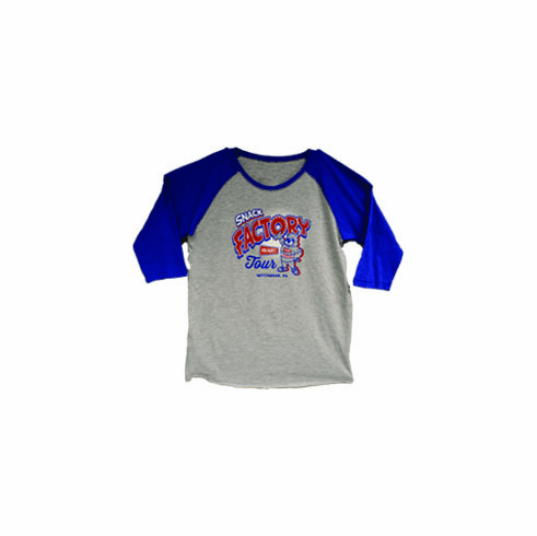 Herr's® Child/Youth Snack Factory Tour 3/4 sleeve Tee