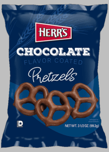 Herr's® Chocolate Lovers<BR> *Your favorite snacks enrobed in CHOCOLATE click for selections