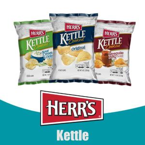 Herr's® Kettle Cooked Potato Chips <BR>Check out Limited Edition Flavors!