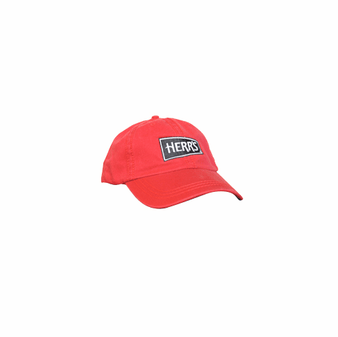 Herr's Red Embroidered Hat