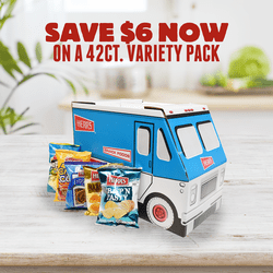"Herr's® Snack Truck (42 bags) <br>Assorted Single serve bags <br>Selection may vary. <br><font color=""cc0000""><br>Promo Price $20.00 <br>Original Price<br> $26.00 </b></font color>"