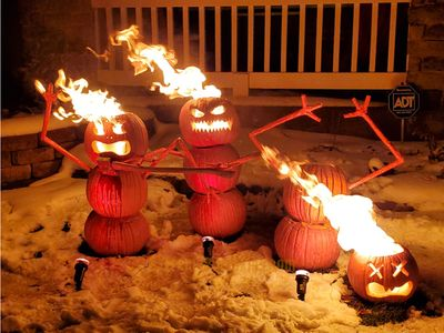 Dance of the Flaming Pumpkins