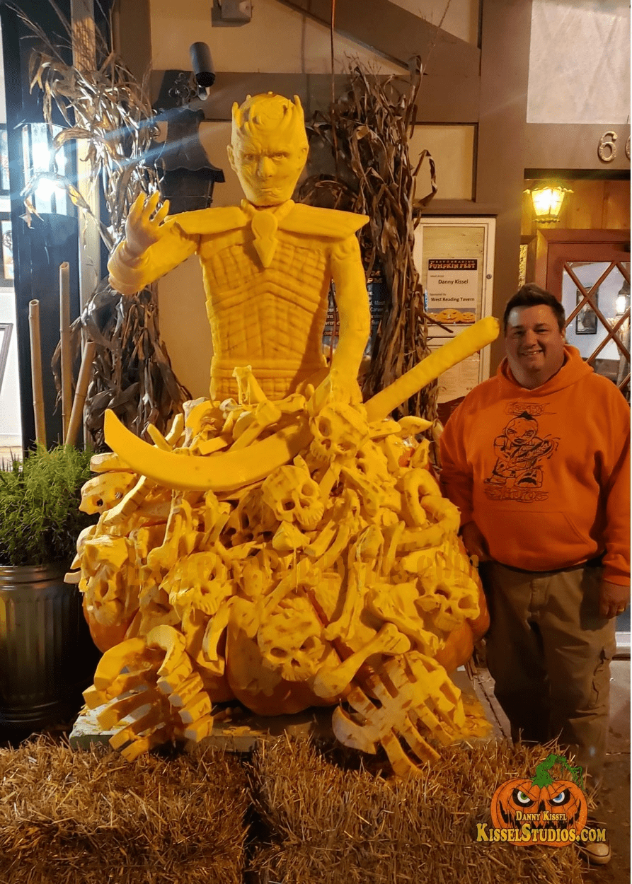Danny Kissel Might Be The Best Pumpkin Carver of ALL TIME!