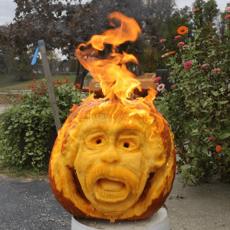 The Extreme Pumpkin Carving Contest