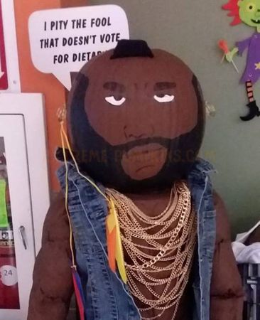 Mr. T Pumpkin