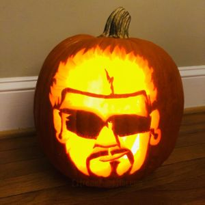 Guy Fieri Pumpkin