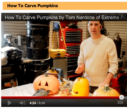 How To Carve Pumpkins