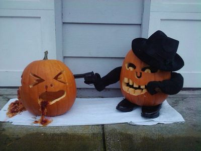 Stick Em Up Pumpkins