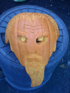The Mullet Pumpkin