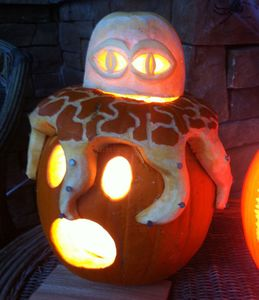 The Octopus Pumpkin