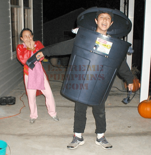 The Trash Can Kid