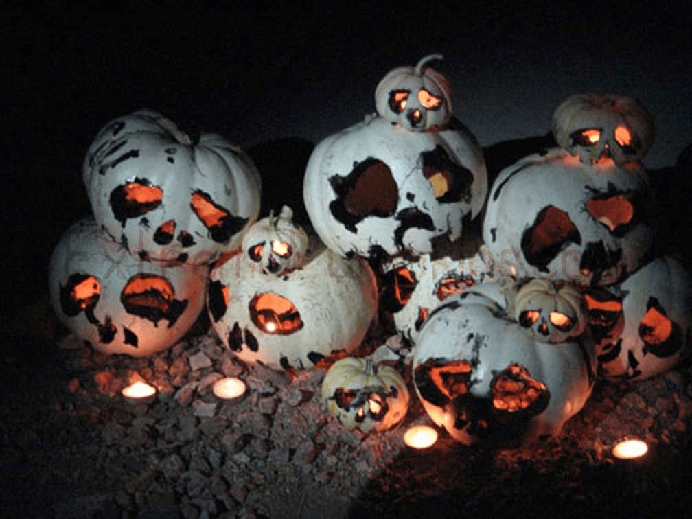 This is What Ghost Pumpkins Should Look Like