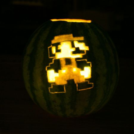 Mario Pumpkin - Cheater!