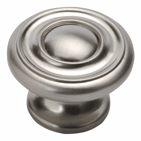 """Hickory Hardware P3501-SS Cottage Knob, 1-1/2"""" Dia. Stainless Steel"""