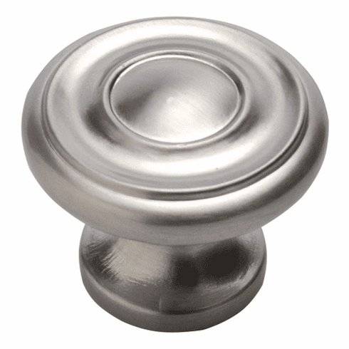 """Hickory Hardware P3500-SS Cottage Knob, 1-1/4"""" Dia. Stainless Steel"""