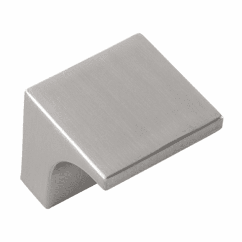 """Hickory Hardware P3330-SS Swoop Knob, 1-5/16"""" Square. Stainless Steel"""