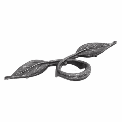 """Hickory Hardware P7304-VP Natural Accents Pull, 3""""C/C Vibra Pewter"""