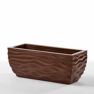 36in. Modern Wave ArmoreCoat Planter