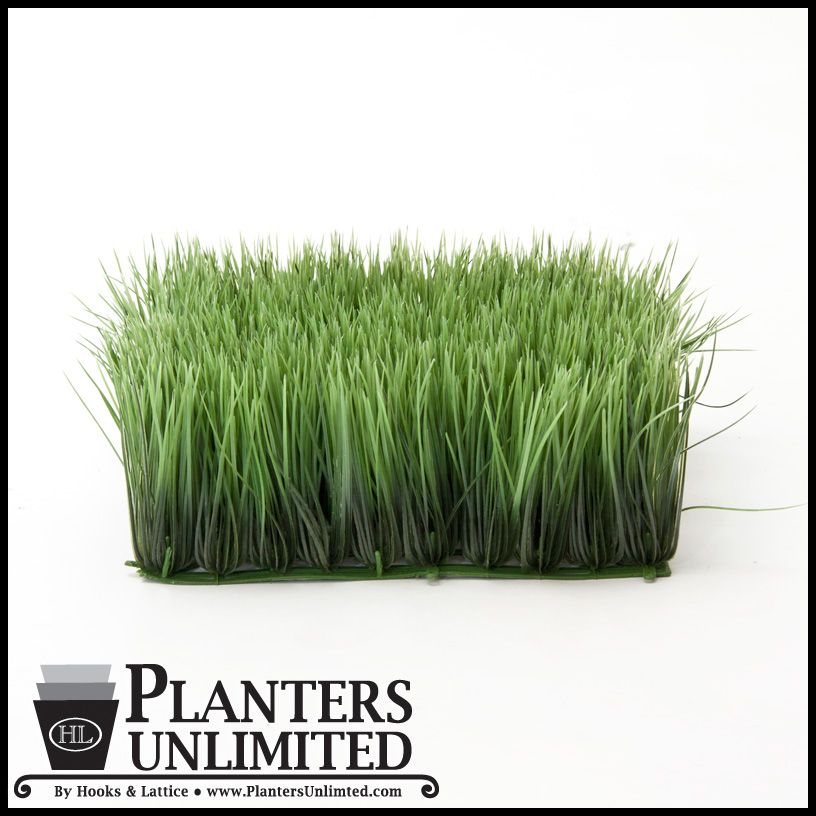 4 5in H Wheat Grass Mat 10in Green Indoor