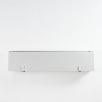 "30"" Modern White Fiberglass Window Box"