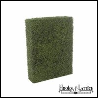 Boxwood Outdoor Artificial Hedge 60in.L x 12in.W