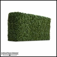 Duraleaf Boxwood Outdoor Artificial Hedge 60inL x 12inW