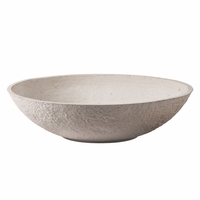 Pesta Cast Stone Low Bowl Planters