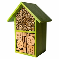 Tulip Lime Green Bee House