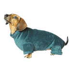 Dachshund Windblock Fleece Bodysuit - Cypress