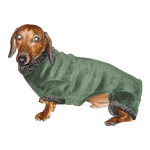 Dachshund Windblock Fleece Bodysuit -  Hunter