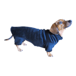 Dachshund Windblock Fleece Bodysuit - Twilight