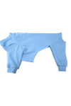 Italian Greyhound Romper - Light Blue