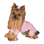 Toy & Teacup Fleece Jammies - Soft Pink