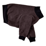 Whippet Heavy Fleece Sweater - Coffee Tweed
