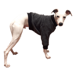 Whippet Heavy Fleece Sweater - Smoky Tweed