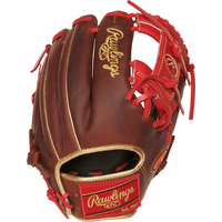 11.5 Inch Rawlings Heart of the Hide PRO204-2TIG Adult Infield Baseball Glove