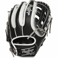 11.5 Inch Rawlings Heart of the Hide PRO314-6BW Adult Infield Baseball Glove