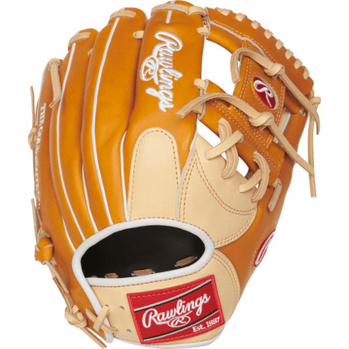 11.5 Inch Rawlings Heart of the Hide PRONP4-2CTW Adult Infield Baseball Glove