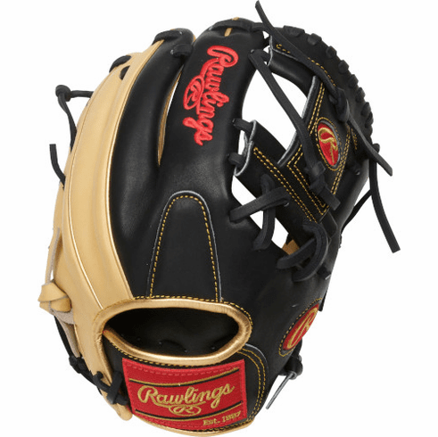 11.5 Inch Rawlings Heart of the Hide R2G Contour Fit PROR204U-2CB Adult Infield Baseball Glove
