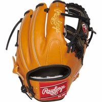 11.5 Inch Rawlings Pro Preferred PROS204-2RTB Adult Infield Baseball Glove