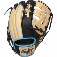 11.75 Inch Rawlings Heart of the Hide PRO205-6CBSS Adult Infield Baseball Glove - Gold Glove Club: March