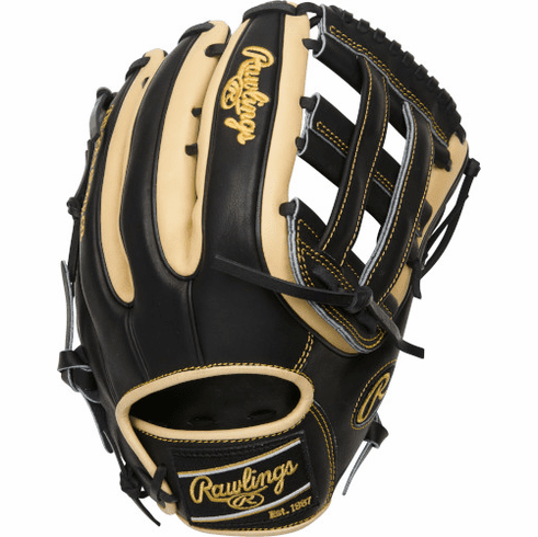 12.75 Inch Rawlings Heart of the Hide R2G Contour Fit PROR3319-6BC Adult Outfield Baseball Glove