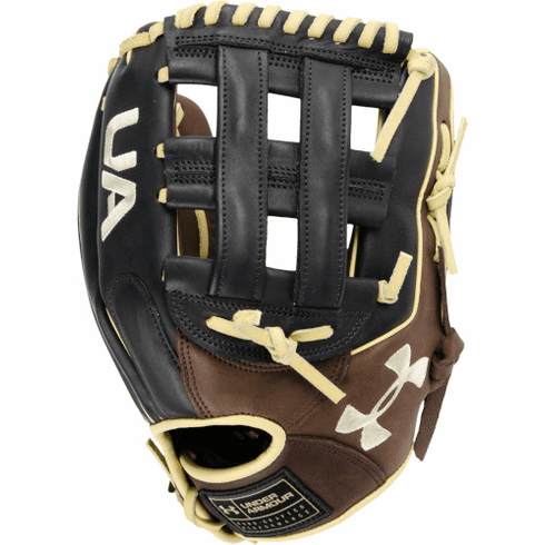 12.75 Inch Under Armour Choice Adult Outfield Baseball Glove UAFGCH-1275H