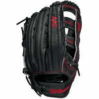 12.75 Inch Wilson A2K SuperSkin 1775SS Adult Outfield Baseball Glove WBW1000671275
