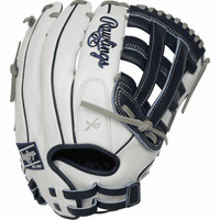 13 Inch Rawlings Liberty Advanced Color Series RLA130-6N Women's White/Navy Fastpitch Softball Glove