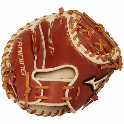 31.5 Inch Mizuno Pro Select GPS1T Adult Baseball Training Catcher Mitt 312733