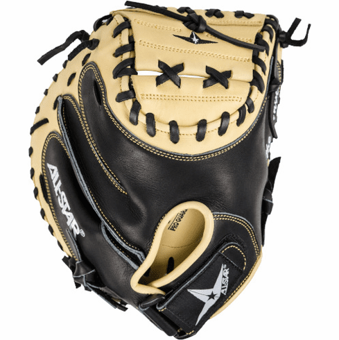 33.5 Inch All-Star Anvil CM3500TM Adult Baseball Weighted Training Catcher's Mitt