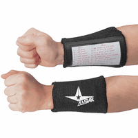 All-Star Accessories ASWBYQB Youth Window Wrist Band