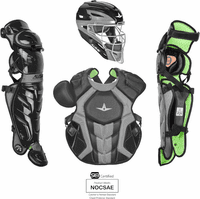 All-Star System 7 Axis CKCCPRO1X Adult Baseball Professional Level Catcher's Gear Set