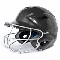 All-Star System 7 BH3010-FPV Girl's Fastpitch Softball Batting Helmet w/ Facemask